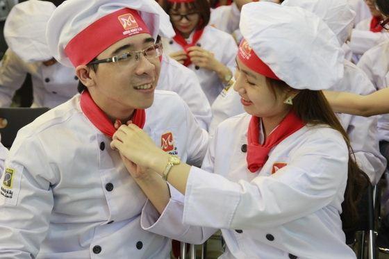 trải nghiệm nghề làm bánh