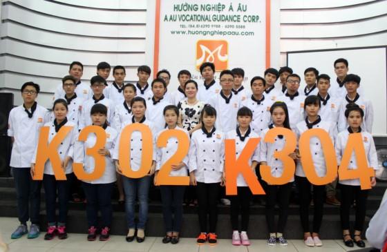 học viên k305 và k301