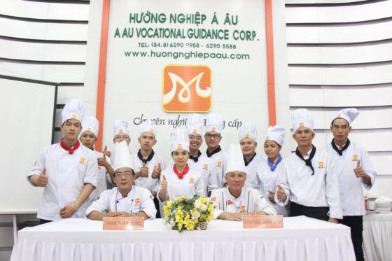 lớp bếp trưởng k218