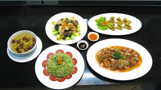 set menu món chay