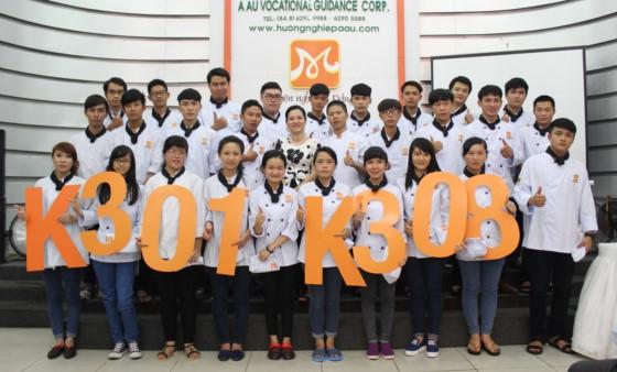 tân học viên lớp k301 và k308
