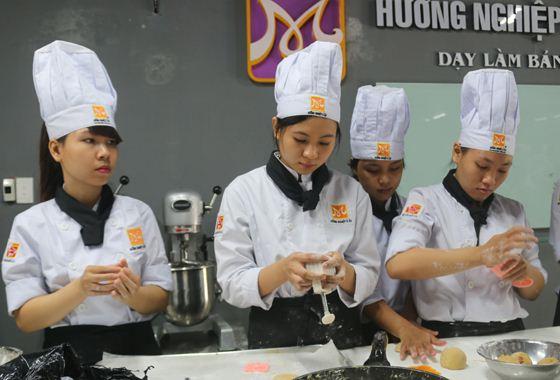 lớp bếp bánh bánh trung thu