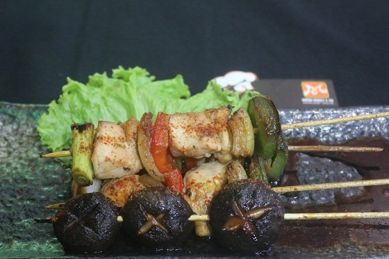 thịt xiên nướng kiểu nhật