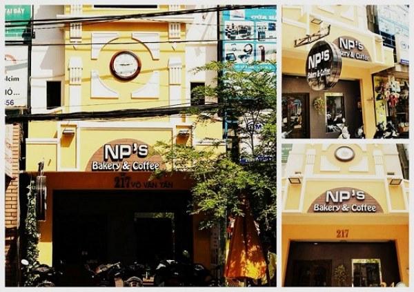 Bên ngoài NPS bakery coffee