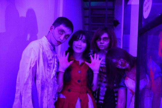 halloween hóa trang ấn tượng