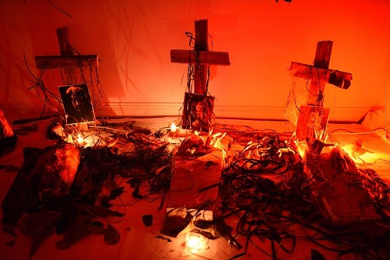 halloween phần mộ lạc vào cõi âm