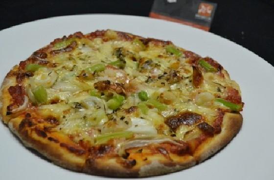hình ảnh bánh pizza hải sản