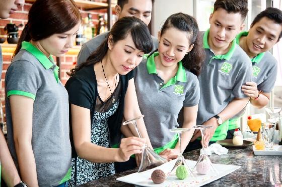học làm kem và cơ hội nghề nghiệp hấp dẫn