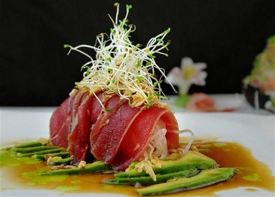 carpaccio cá ngừ