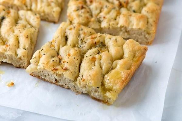 Món bánh mỳ Focaccia