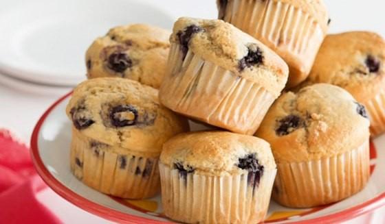 bánh muffin nho khô