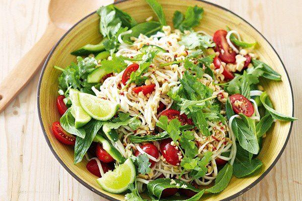 Món salad dầu giấm