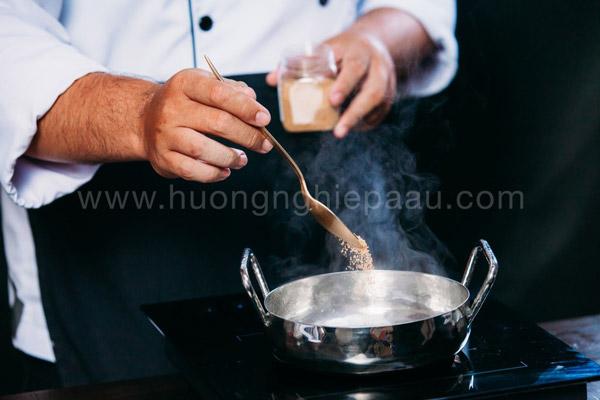 Làm soup cá ngừ với bột hondasi