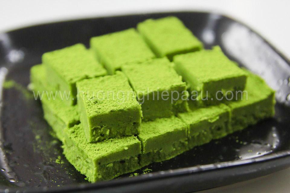 Bánh Nama Matcha