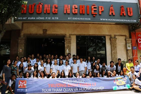trường Đinh Thiện Lý trải nghiệm lớp học HNAAu