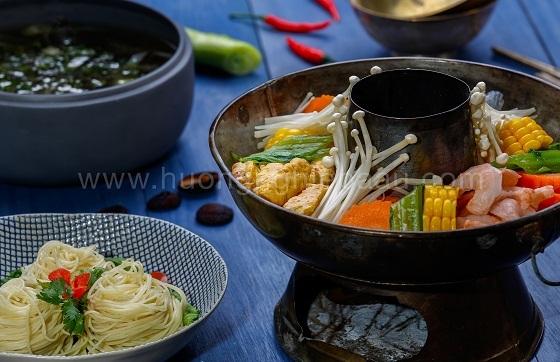 Cách nấu lẩu hải sản chay ngon, bổ, mát