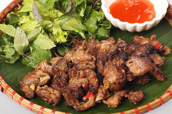Thịt ba chỉ nướng riềng mẽ