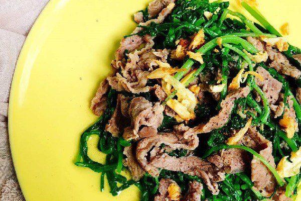 Thịt bò xào cải