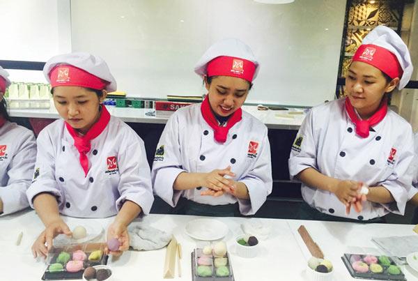 tự tay tạo bánh wagashi