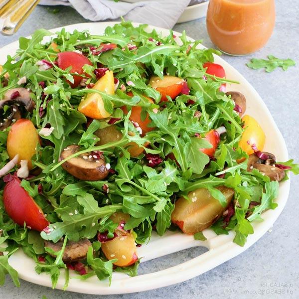 Làm salad ăn kèm