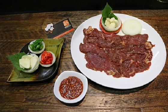 Sốt trái cây dùng để nướng thịt bò