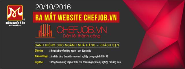 giới thiệu chefjob