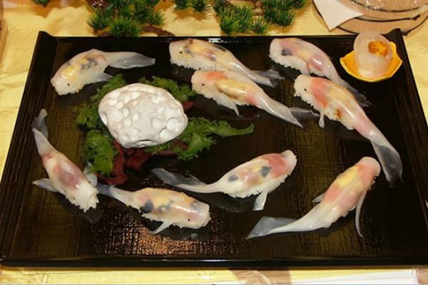 Koi sushi ngon đẹp