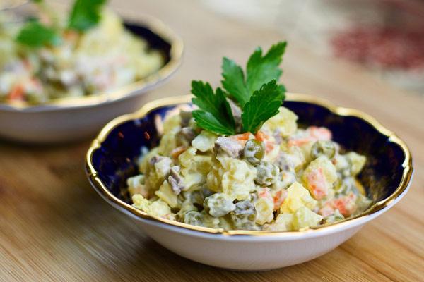 Món salad nga