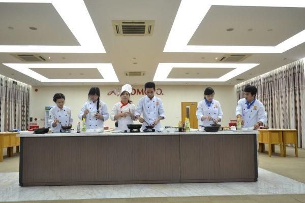 Giao lưu cùng đầu bếp ajinomoto