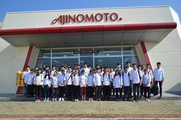Tham quan nhà máy ajinomoto