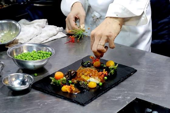 Niềm vui của người đầu bếp là khi được thực khách khen