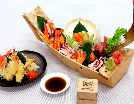 học nấu món nhật - học làm sushi