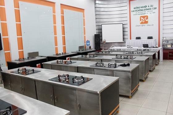 Hệ thống bếp phải bảo đảm không rĩ sét