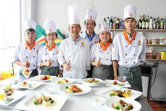 Học nghề Bếp nhanh, cơ hội nghề nghiệp rộng mở