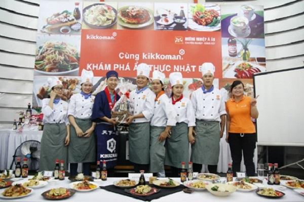Một ngày trải nghiệm vị trí Đầu Bếp Nhật cùng Kikkoman