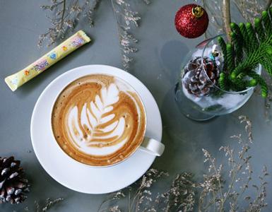 Học latte art