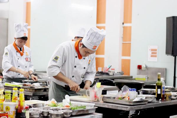 Xác nhận mục tiêu học nghề bếp
