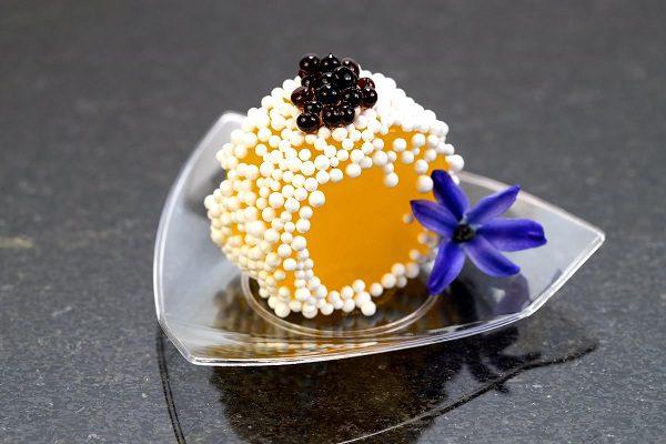 nước ép có thể ăn được nhờ kỹ thuật Spherification