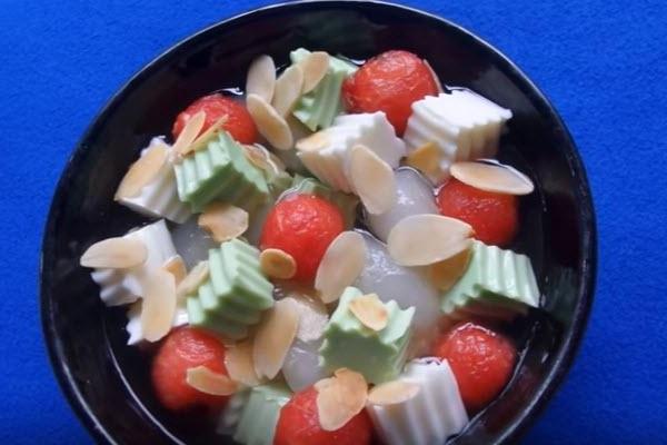 Chè khúc bạch không gelatin