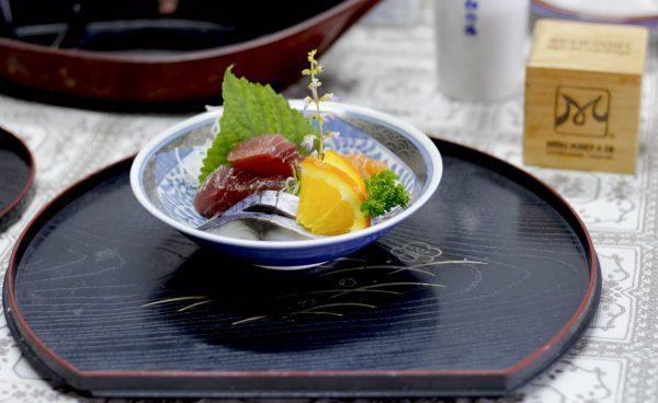 Itamae phải biết nghệ thuật bày trí món ăn