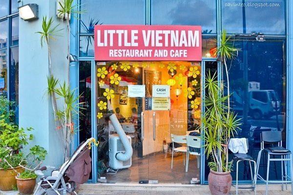 nhà hàng Việt Nam tại Singapore - Little Vietnam