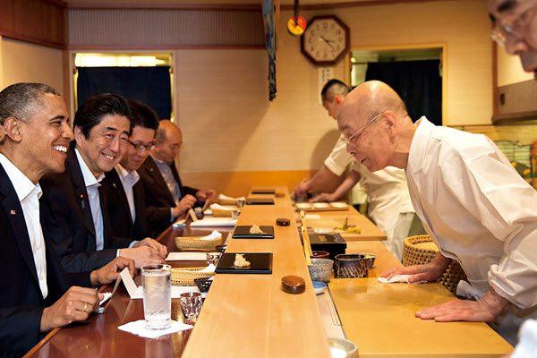 Đầu bếp Jiro Ono điều hành nhà hàng 3 sao