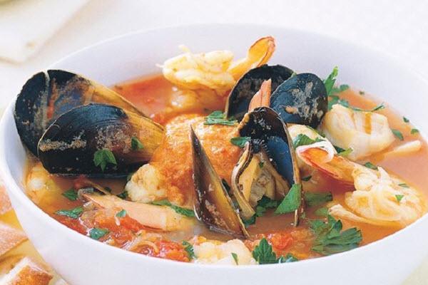 Bouillabaisse – súp vàng đại dương