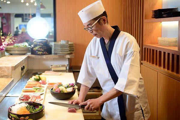 Đầu bếp sushi của Nhật