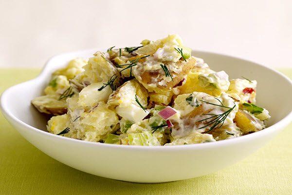 Salad khoai tây kiểu Mỹ
