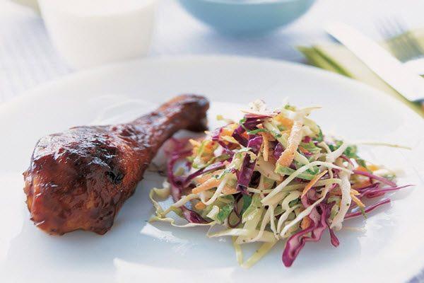 Salad rau củ + thịt