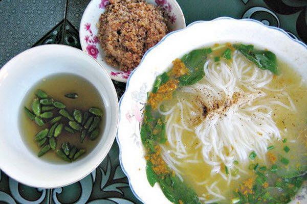 Bún rạm Bình Định