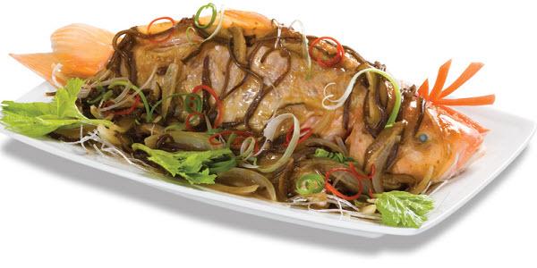 Lạ miệng với món cá chép hấp xì dầu