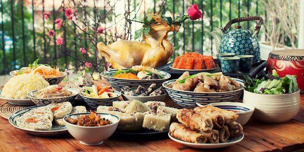 cơm ngày Tết của người Việt