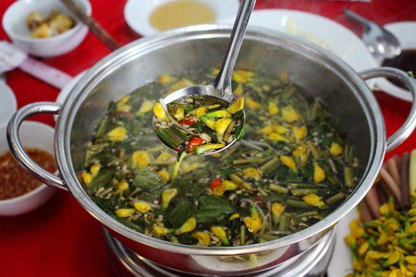 Cách nấu món canh chua cá linh ngon